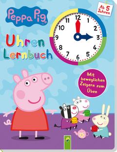 "Cover des Buches ""Peppa Pig - Uhrenlernbuch"""