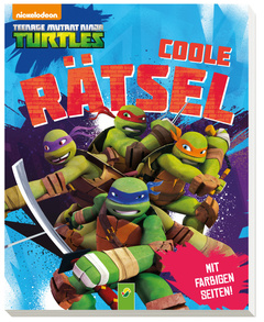 "Cover des Buches ""Teenage Mutant Ninja Turtles - Coole Rätsel"""