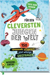 """Cover des Buches """"Für den cleversten Jungen der Welt"""""""