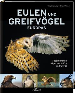 """Cover des Buches """"Eulen und Greifvögel Europas"""""""