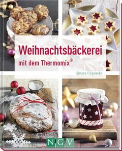 """Cover des Buches """"Weihnachtsbäckerei mit dem Thermomix®"""""""