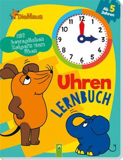 """Cover des Buches """"Die Maus Uhrenlernbuch"""""""