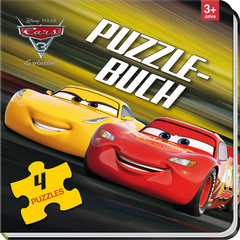 "Cover des Buches ""Disney Cars 3 - Puzzlebuch"""
