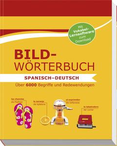 """Cover des Buches """"Bildwörterbuch Spanisch-Deutsch"""""""