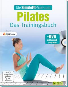 "Cover des Buches ""Die SimpleFit-Methode - Pilates - Das Trainingsbuch"""