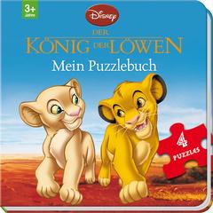 """Cover des Buches """"Disney König der Löwen - Mein Puzzlebuch"""""""