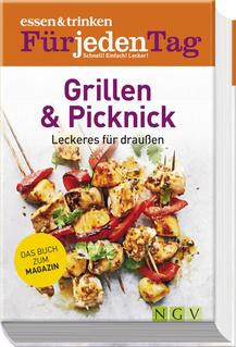 """Cover des Buches """"ESSEN & TRINKEN FÜR JEDEN TAG - Grillen & Picknick"""""""