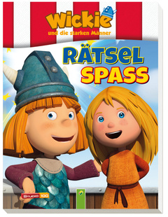 "Cover des Buches ""Wickie Rätselspaß"""