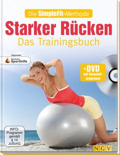 """Cover des Buches """"Starker Rücken - Das Trainingsbuch"""""""