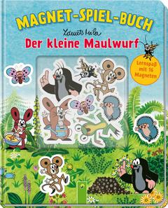 """Cover des Buches """"Der kleine Maulwurf - Magnet-Spiel-Buch"""""""