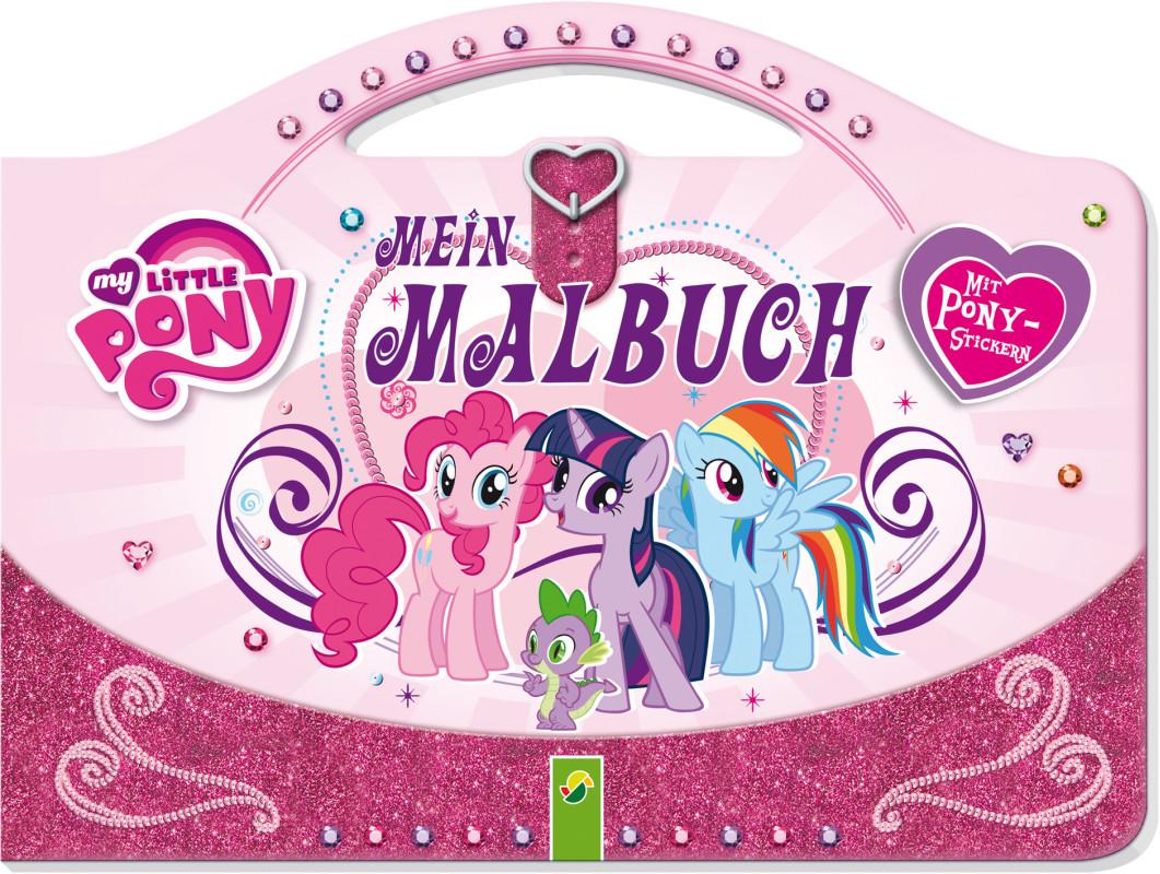 My Little Pony - Mein Taschen-Malbuch - VEMAG Verlags- und Medien ...